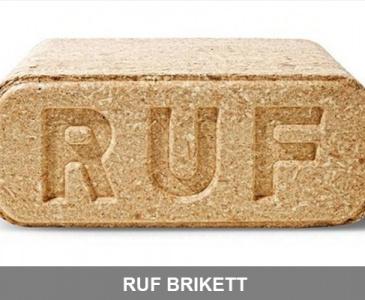 RUF brikett