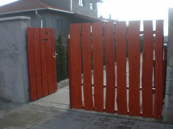 Fa kerítés, fakerítés panel