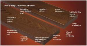 Thermowood előnyei